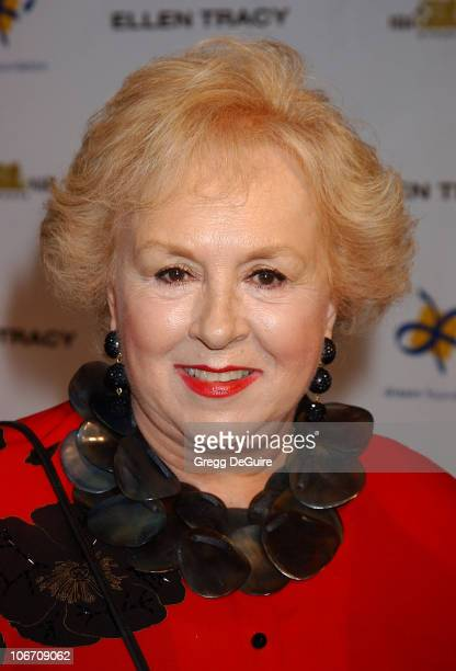 Doris Roberts during Dream Foundation Hosts StarStudded Extravaganza Fundraiser 'Le Cabaret des Reves' at Park Plaza Hotel in Hollywood California...