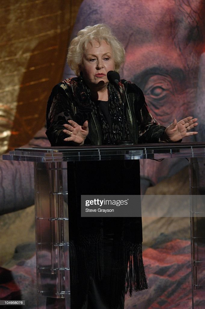 Doris Roberts during The 17th Annual Genesis Awards - Show at The Beverly Hilton Hotel in Beverly Hills, California, United States.