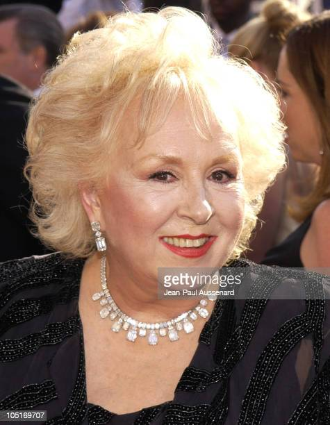 Doris Roberts during The 55th Annual Primetime Emmy Awards Arrivals at The Shrine Theater in Los Angeles California United States