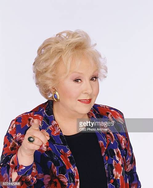 Doris Roberts plays Marie Barone on EVERYBODY LOVES RAYMOND