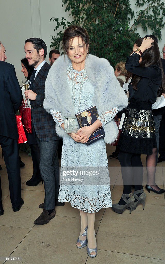 Dorit Moussaieff attends the book launch party for 'The Queen Of Four Kingdoms' by Princess Michael of Kent at The Orangery on October 17, 2013 in London, England.