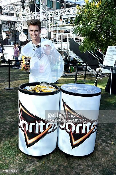 Doritos representative attends the MTV Fandom Awards San Diego at PETCO Park on July 21 2016 in San Diego California