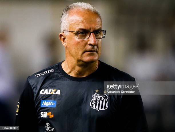 Dorival Junior head coach of Santos in action during the match between Santos of Brazil and The Strongest of Bolivia for the Copa Bridgestone...