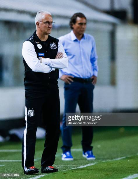 Dorival Junior head coach of Santos of Brazil in action during the match between Santos and Sporting Cristal for the Copa Bridgestone Libertadores...