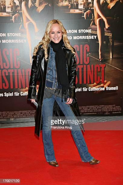 Dorkas Kiefer At The Premiere In 'Basic Instinct 2' in Cinestar in Berlin 220306