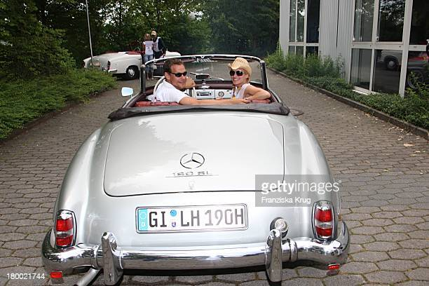 Dorkas Kiefer Und Steffen Wink Bei Der Ersten Etappe Vom 'Grossen Grenzverkehr 2007' In Amerang Am 150607