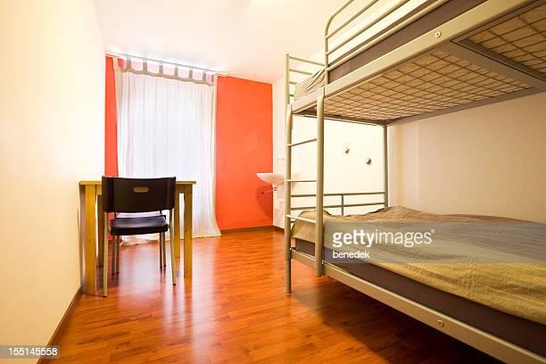 Dorm room, Hostel