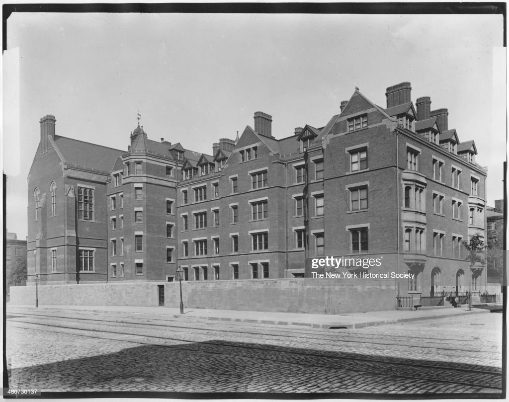 Dormitory General Theological Seminary at Tenth Avenue and 20th Street New York New York 1895