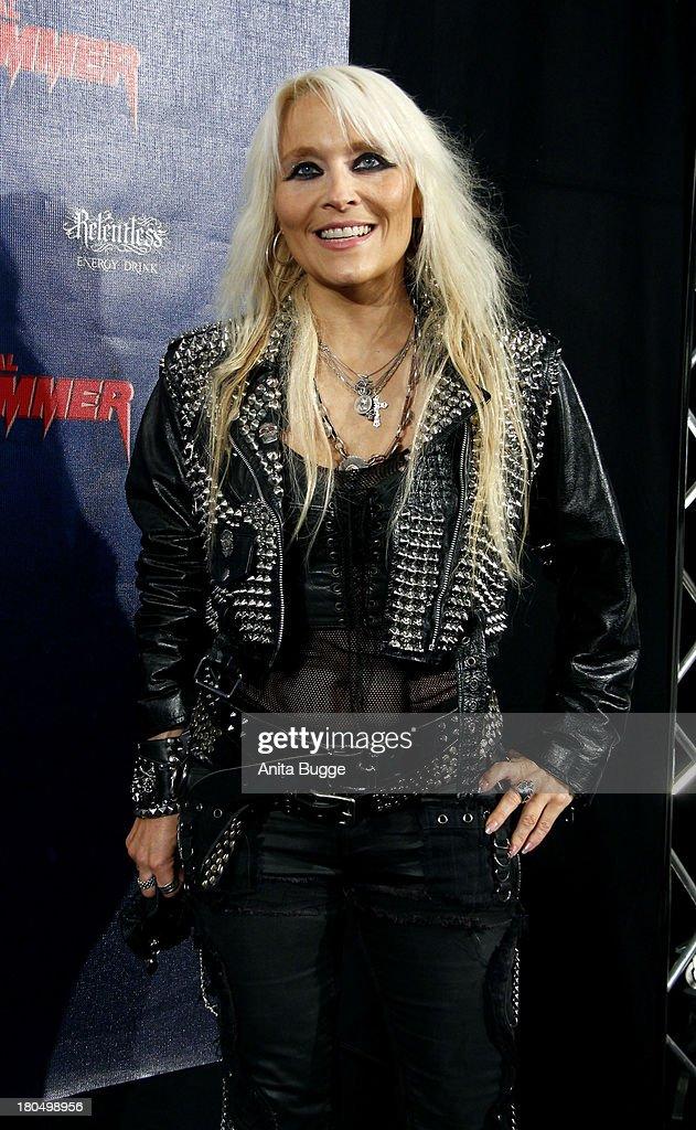 Doro Pesch attends the Metal Hammer Awards 2013 at Kesselhaus on September 13, 2013 in Berlin, Germany.
