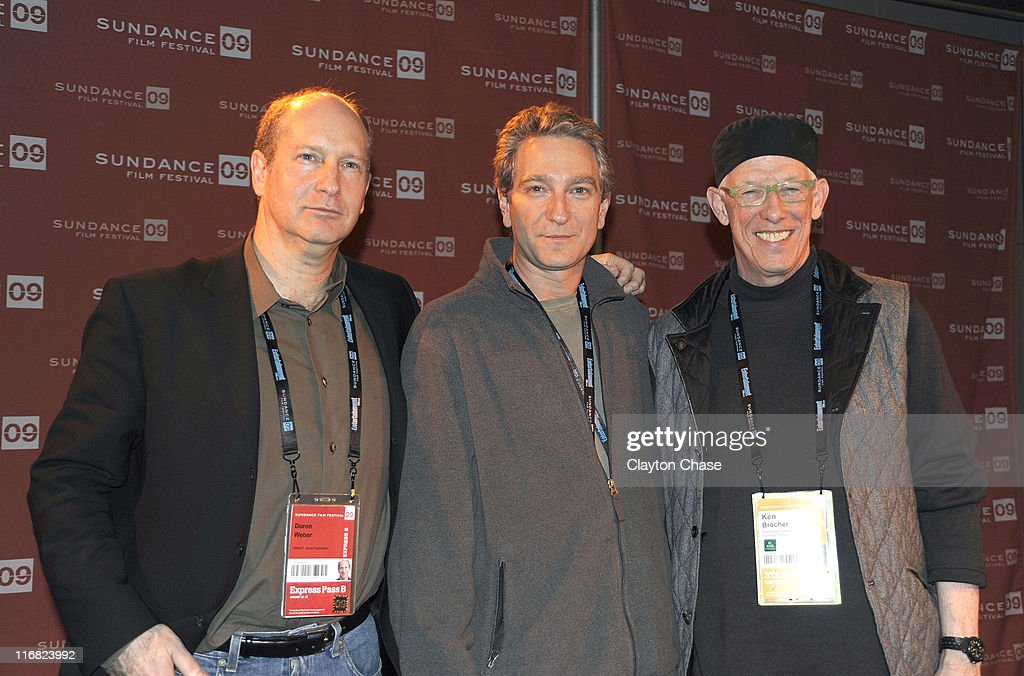 Doron Webber of the Alfred P Sloan Foundation Director Max Mayer and Sundance Institute executive director Ken Brecher attend the Alfred P Sloan...