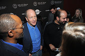 Doron Weber and Cirro Guerra attend the Alfred P Sloan Foundation Reception and Prize Announcement during the 2016 Sundance Film Festival at High...