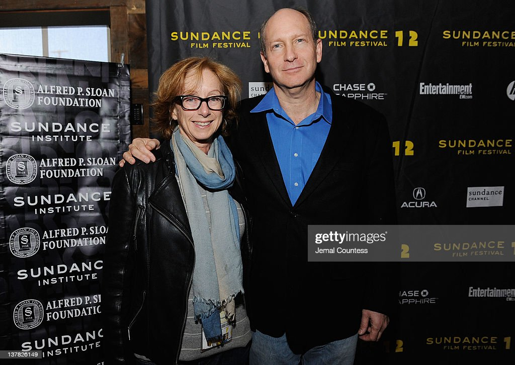 Doron Weber (R) attends the Alfred P. Sloan Foundation Reception & Prize Announcement during the 2012 Sundance Film Festival on January 27, 2012 in Park City, Utah.