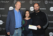 Doron Weber Cristina Gallego and Cirro Guerra attend the Alfred P Sloan Foundation Reception and Prize Announcement during the 2016 Sundance Film...