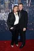 Dorothea Hurley and Jon Bon Jovi attend SNL 40th Anniversary Celebration at Rockefeller Plaza on February 15 2015 in New York City
