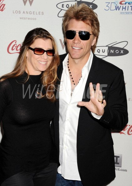 Dorothea Hurley And Musician Jon Bon Jovi Arrive At Cw3pr Presents The Wireimage 159394430