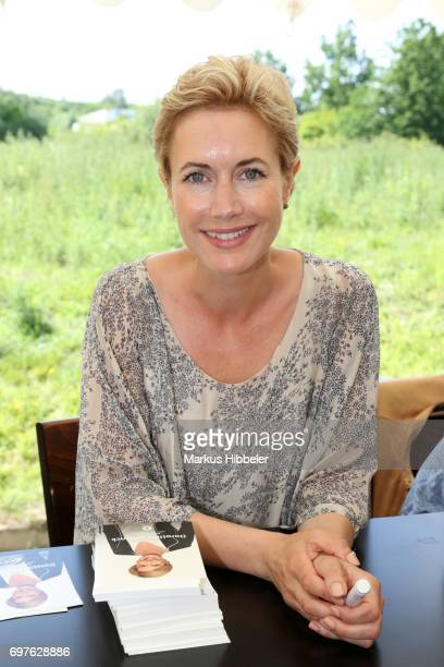 Dorothea Schenk poses during the celebration of 2500 episodes of 'Rote Rosen' on June 18 2017 in Lueneburg Germany