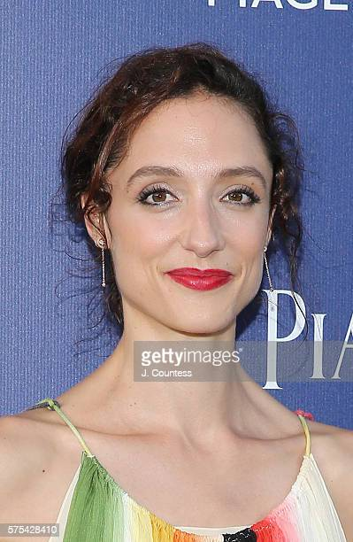 Dorothee Gilbert attends the Piaget New Timepiece Launch at the Duggal Greenhouse on July 14 2016 in New York City