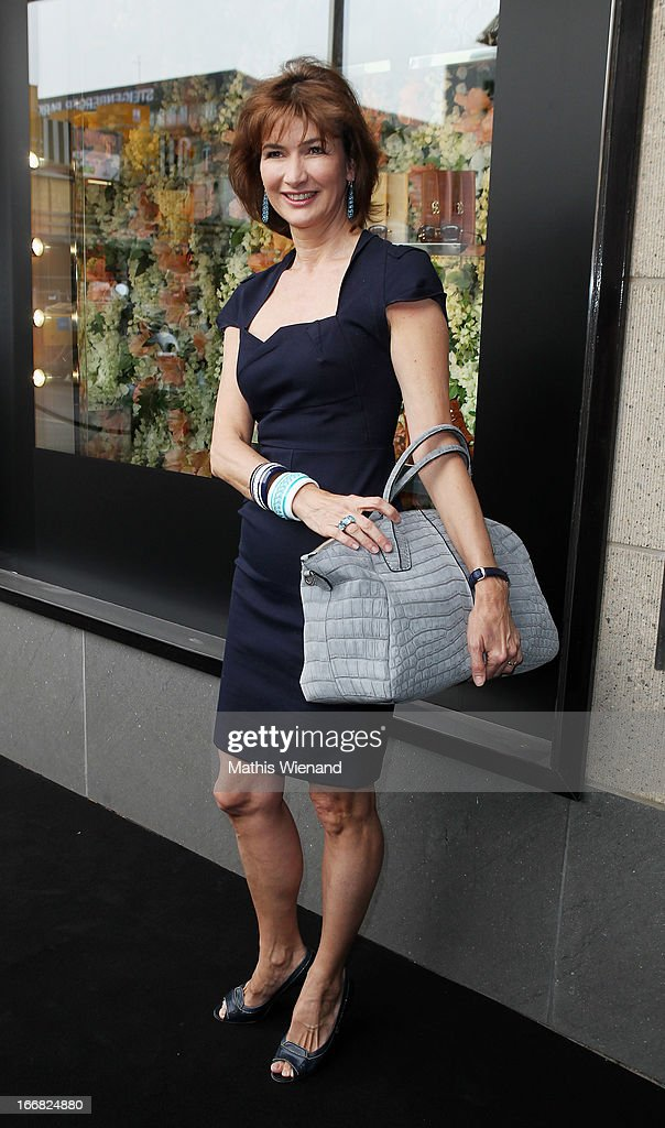 Dorothee von Posadowsky attends Tod's D.D. Bag Collection Presentation at Tod's Store at Koenigsalle 12 on April 17, 2013 in Duesseldorf, Germany.