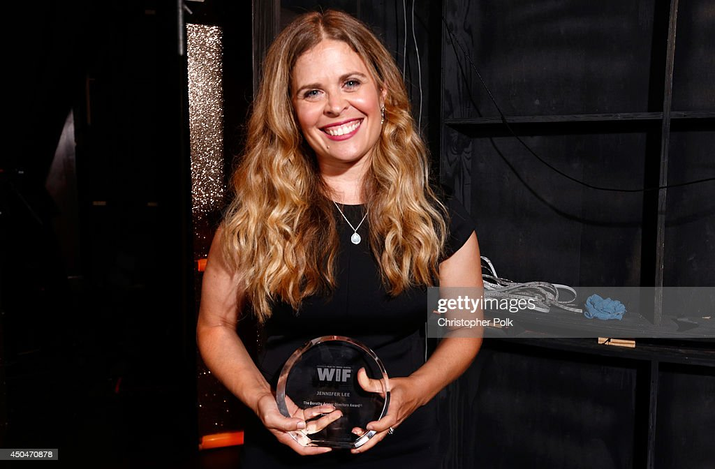 Dorothy Arzner Directors Award recipient Jennifer Lee attends Women In Film 2014 Crystal Lucy Awards presented by MaxMara BMW PerrierJouet and South...