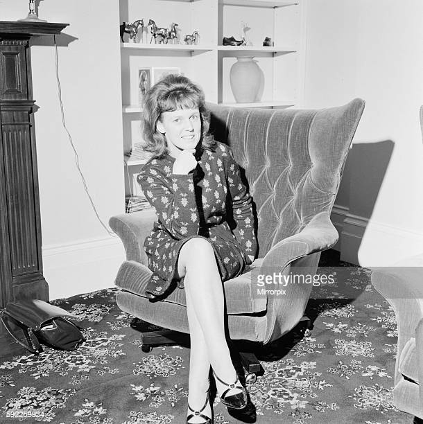 Dorothy Calvert wife of Reg Calvert pictured at home in Welbeck Street London on the evening of 21st June 1966 It was alleged that her husband Mr...