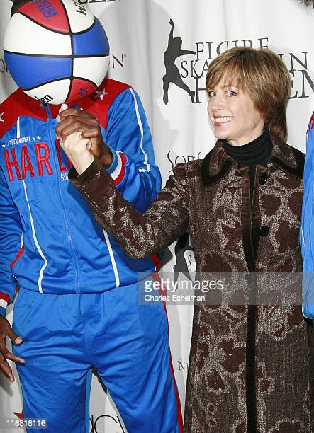 Dorothy Hamill attend the 2008 Skating With The Stars Gala By Figure Skating In Harlem at the Wollman Rink Central Park on March 31 2008 in New York...