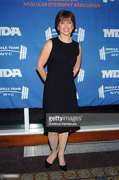 Dorothy Hamill during 8th Annual Muscular Dystrophy Association's Muscle Team 2005 Gala at Chelsea Piers in New York City New York United States