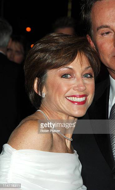 Dorothy Hamill during 'Phantom of the Opera' Becomes the LongestRunning Show on Broadway at The Majestic Theatre in New York City New York United...