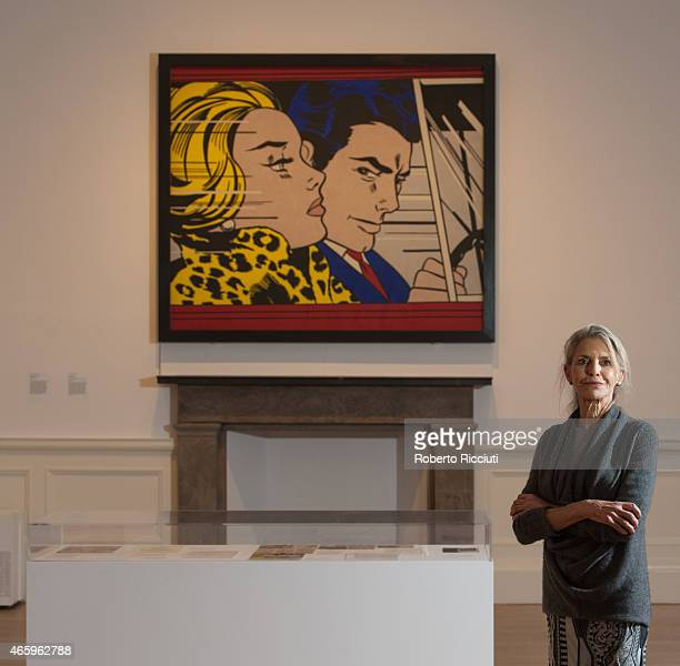 Dorothy Lichtenstein attends a press view of ARTIST ROOM Roy Lichtenstein at the Scottish National Gallery of Modern Art at Scottish National Gallery...