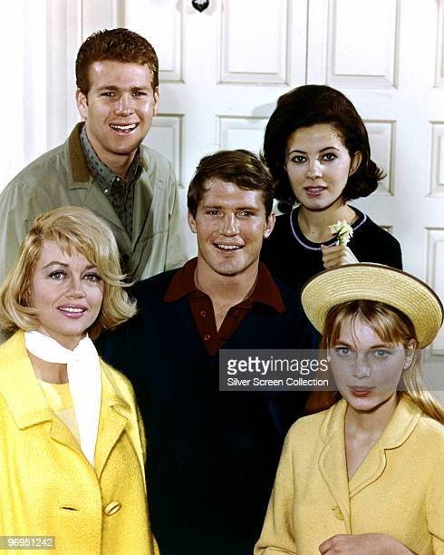 Dorothy Malone as Constance MacKenzie Carson Mia Farrow as Allison MacKenzie Ryan O'Neal as Rodney Harrington Christopher Connelly as Norman...