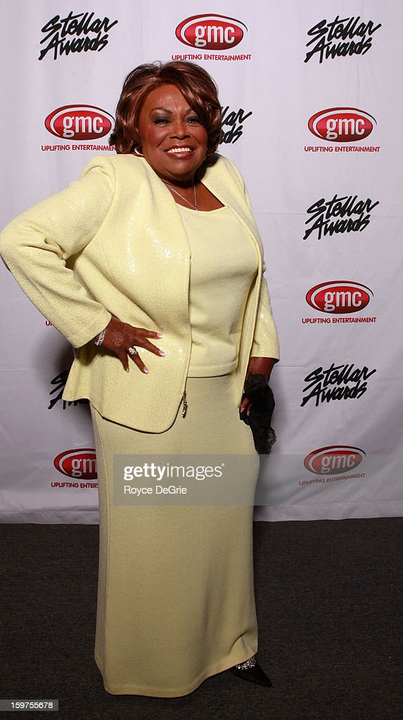 Dorothy Norwood attends the 28th Annual Stellar Awards at Grand Ole Opry House on January 19, 2013 in Nashville, Tennessee.