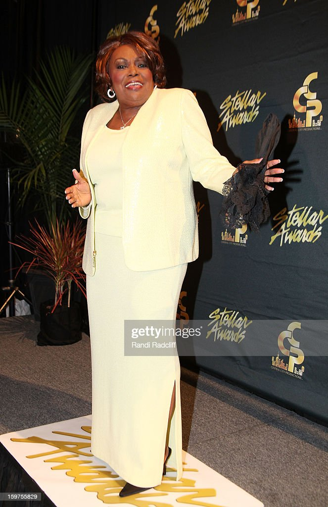 Dorothy Norwood attends the 28th Annual Stellar Awards Press Room at Grand Ole Opry House on January 19, 2013 in Nashville, Tennessee.