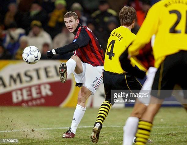 LEAGUE 02/03 Dortmund BORUSSIA DORTMUND AC MAILAND 01 Andrej SCHEWTSCHENKO/AC MAILAND