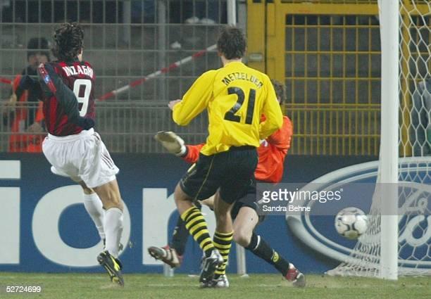 Dortmund BORUSSIA DORTMUND AC MAILAND 01 TOR Filippo INZAGHI/Mailand