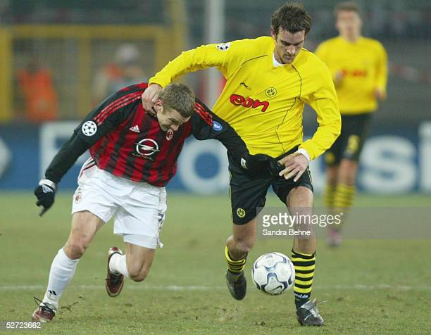 Dortmund BORUSSIA DORTMUND AC MAILAND Andrej SCHEWTSCHENKO/Mailand Christoph METZELDER/Dortmund