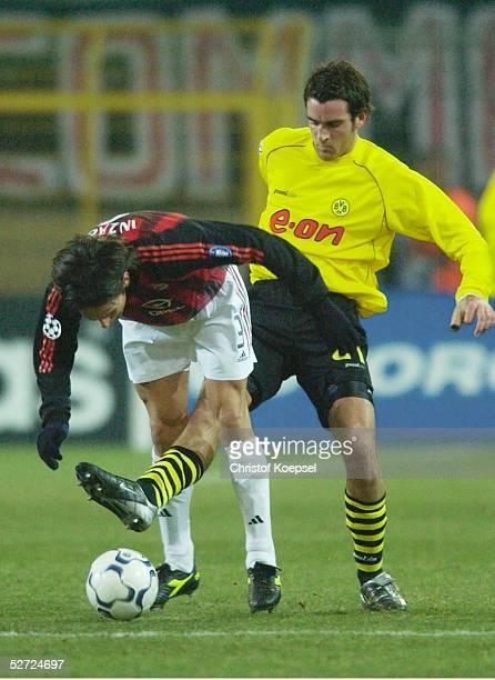 Dortmund BORUSSIA DORTMUND AC MAILAND Filippo INZHAGI/Mailand Christoph METZELDER/Dortmund