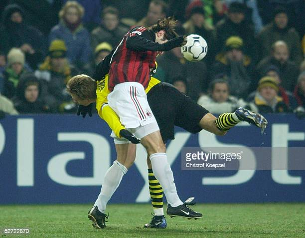 Dortmund BORUSSIA DORTMUND AC MAILAND Joerg HEINRICH/Dortmund Kakha KALADZE/Mailand