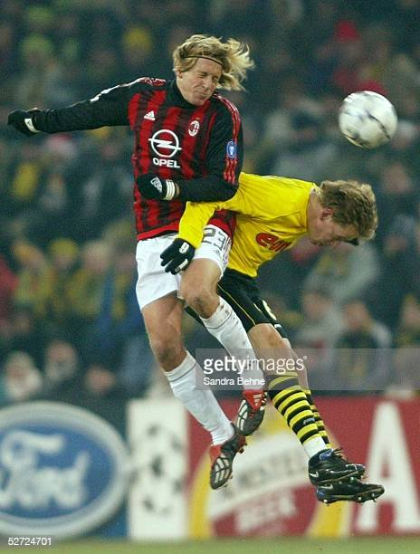 Dortmund BORUSSIA DORTMUND AC MAILAND Massimo AMBROSINI/Mailand Joerg HEINRICH/Dortmund