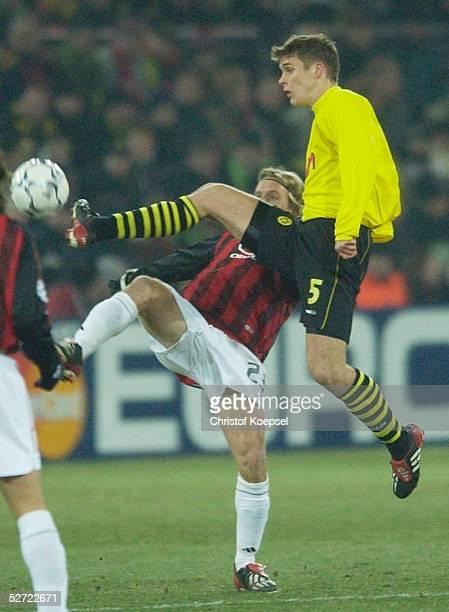 Dortmund BORUSSIA DORTMUND AC MAILAND Massimo AMBROSINI/Mailand Sebastian KEHL/Dortmund