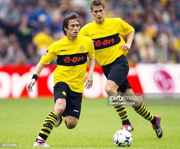 1 BUNDESLIGA 02/03 Dortmund BORUSSIA DORTMUND VFB STUTTGART 31 Tomas ROSICKY Sebastian KEHL/DORTMUND