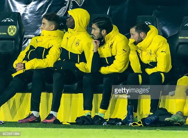 Dortmund Germany UEFA Champions League 2016/17 Season Group F Matchday 4 BV Borussia Dortmund Sporting Lissabon vl Emre Mor Adrian Ramos Nuri Sahin...