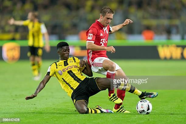 Dortmund Germany Supercup 2016 BV Borussia Dortmund FC Bayern Muenchen Ousmane Dembele gegen Philipp Lahm