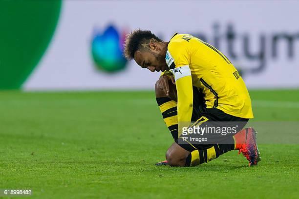 Dortmund Germany 1Bundesliga 7 Spieltag BV Borussia Dortmund Hertha BSC Berlin 11 PierreEmerick Aubameyang vergibt elfmeter