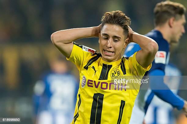 Dortmund Germany 1Bundesliga 7 Spieltag BV Borussia Dortmund Hertha BSC Berlin 11 Emre Mor