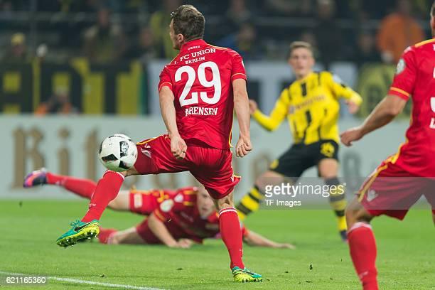 Dortmund Germany DFBPokal 2 Runde BV Borussia Dortmund 1FC Union Berlin TOR zum 10 durch Michael Parensen Jacob Bruun Larsen