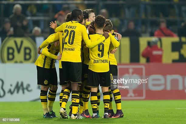 Dortmund Germany DFBPokal 2 Runde BV Borussia Dortmund 1FC Union Berlin jubel um Jacob Bruun Larsen nach dem treffer zum 10