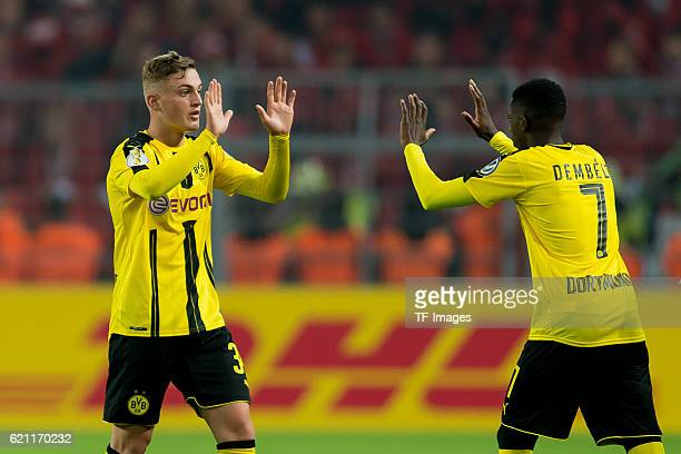 Dortmund Germany DFBPokal 2 Runde BV Borussia Dortmund 1FC Union Berlin Jacob Bruun Larsen wechselt mit Ousmane Dembele