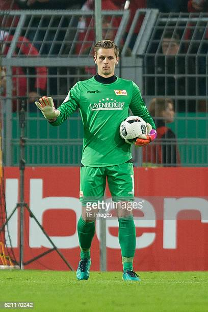 Dortmund Germany DFBPokal 2 Runde BV Borussia Dortmund 1FC Union Berlin Torwart Daniel Mesenhoeler
