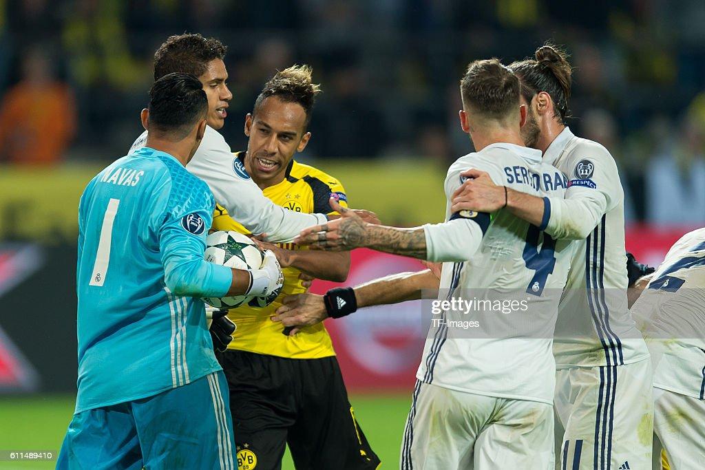 CL: BV Borussia Dortmund - Real Madrid : News Photo