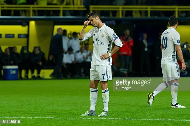 Dortmund Germany UEFA Champions League 2016/17 Season Group F Matchday 2 BV Borussia Dortmund Real Madrid Cristiano Ronaldo