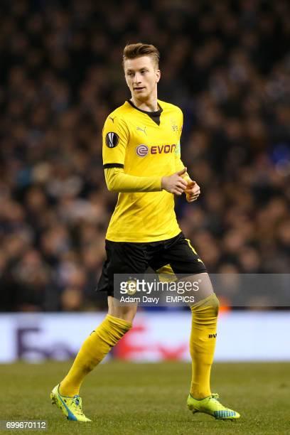 Dortmund's Marco Reus in action
